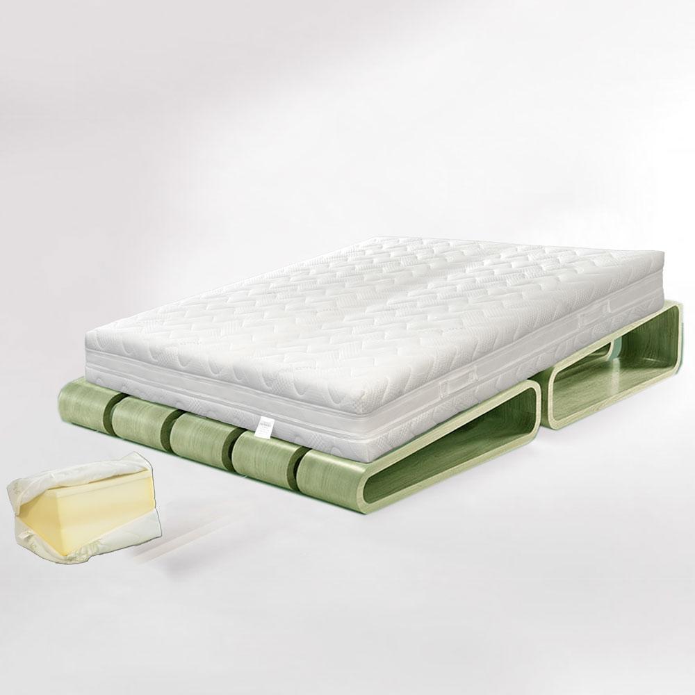 Materasso Memoria Di Forma.Materasso Matrimoniale Memory H24 Esclusivo Design